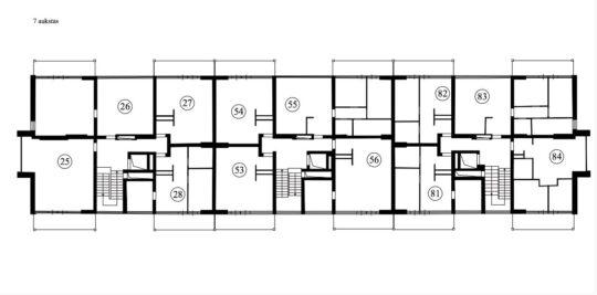 PARDUODAMAS 2 kambarių 38 kv. m butas 5 aukšte