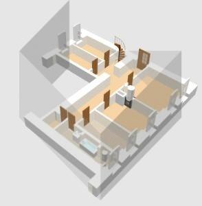 PARDUODAMAS 4 kambarių 100 kv. m butas 3 aukšte