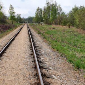 Komercinis sklypas su geležinkelio atšaka