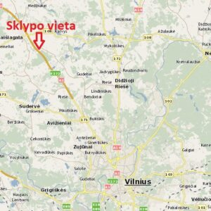 Komercinis sklypas investicijai Vilniaus rajone