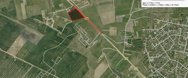 2,7 ha sklypas prie kelio Alytus-Kaunas