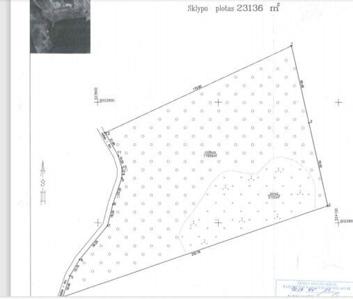 3.6 ha sklypas ant Daugų (Didžiulio) ežero kranto